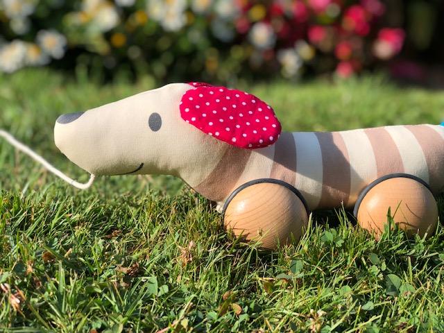 Nachziehhund Hugo von Hape Toys im Test