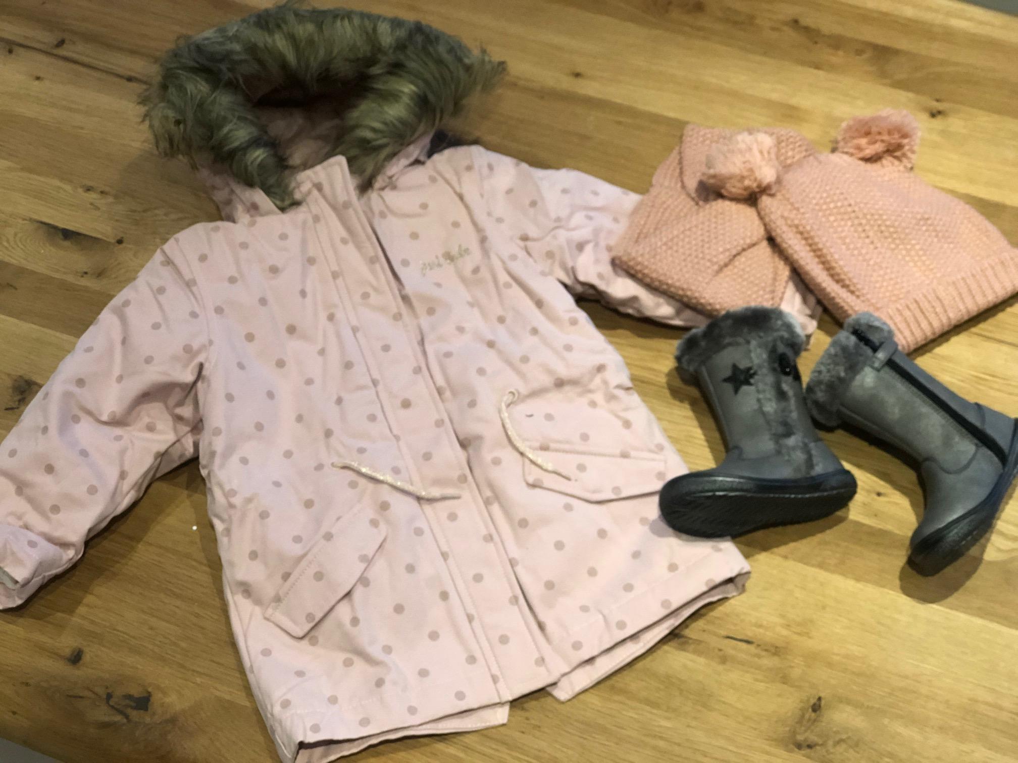 Kinderkleidung für den Winter von Vertbaudet für Mädchen